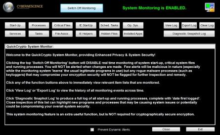 PC System Monitoring Software
